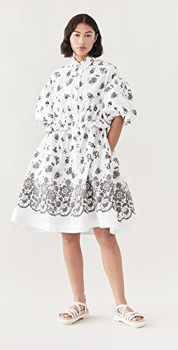 Simone Rocha - Twisted Hip Shirt Dress