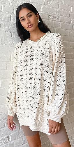 Simone Rocha - Embellished Oversized Bubble Sweater