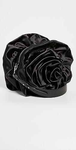 Simone Rocha - Ruched Rose Flower Crossbody Bag