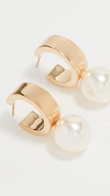 Simone Rocha Hoop Earrings