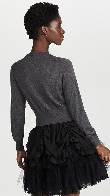 Simone Rocha 合身短款开襟衫