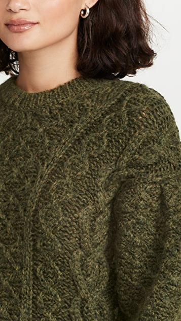 Simone Rocha Signature Sleeve Sculpted Sweater