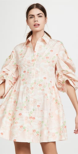 Simone Rocha - Signature Sleeve Sculpted Shirtdress