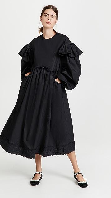 Simone Rocha Signature Sleeve Smock Dress