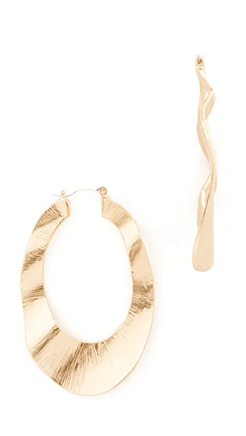Stella + Ruby Thick Hoops