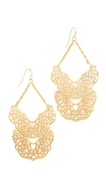 Stella + Ruby Chandelier Dangle Earrings