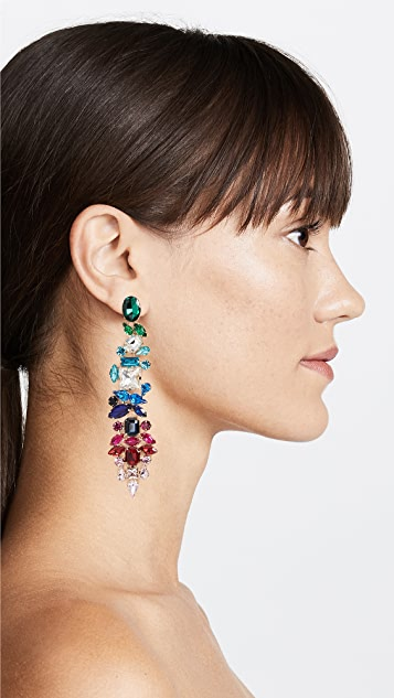 Stella + Ruby Rainbow Statement Earrings