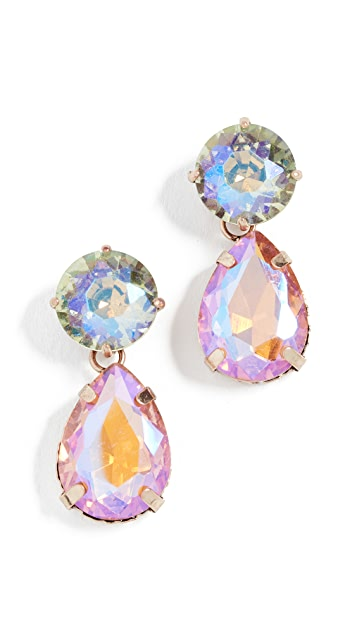 Stella + Ruby Multi Color Drop Earrings | SHOPBOP