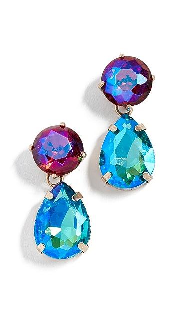 Stella + Ruby Multi Color Drop Earrings