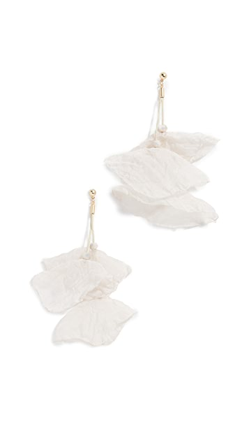 Stella + Ruby Chiffon Flower Earrings