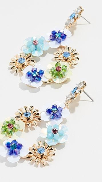 Stella + Ruby Floral Earrings
