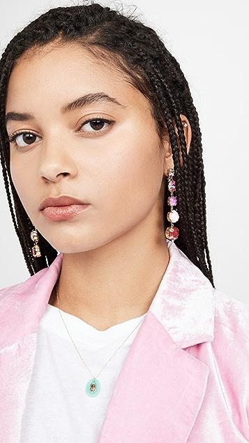Stella + Ruby Graduated Drop Earrings
