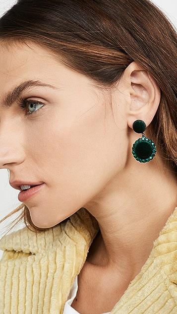 Stella + Ruby Velvet Drop Earrings