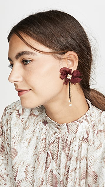 Stella + Ruby Chiffon Stud Earrings