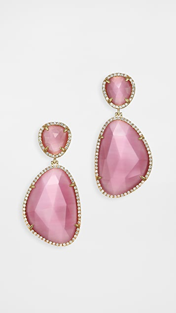 Stella + Ruby Pink Multi Earrings