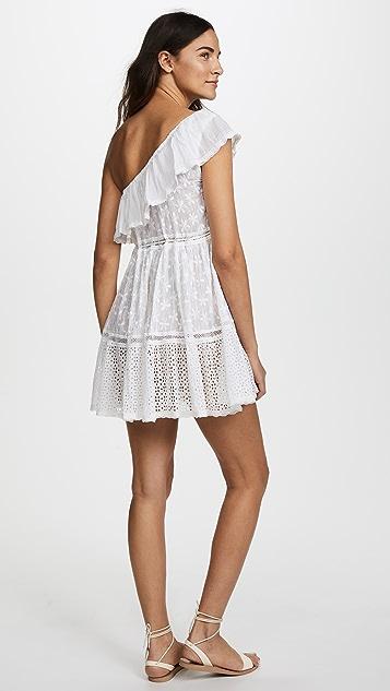 Sunday Saint Tropez One Shoulder Dress