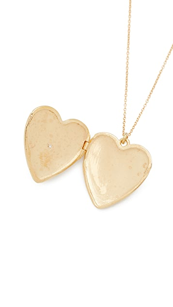 Sasha Samuel Single Star Heart Locket