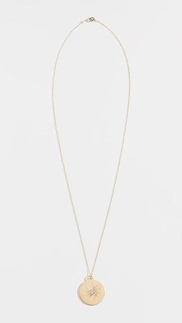 Sasha Samuel Cometta Medallion Necklace