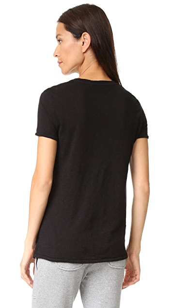 Stateside Slubbed V Neck Tee