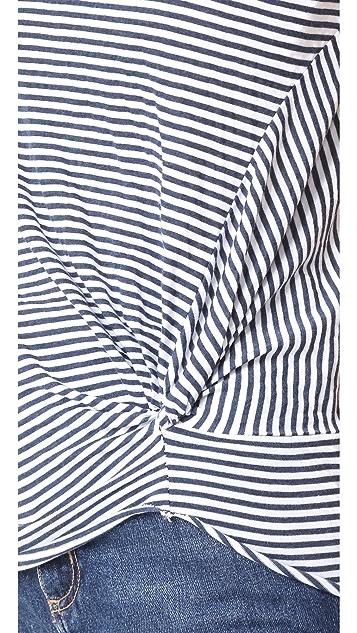 Stateside Twisted Stripe Tee