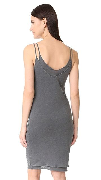 Stateside V Neck Tank Slip Dress