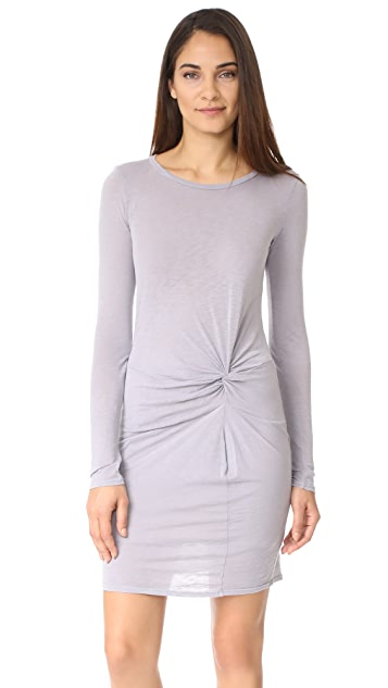 Stateside Long Sleeve T-Shirt Dress
