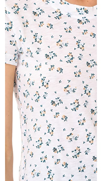 Stateside Floral Print Tee
