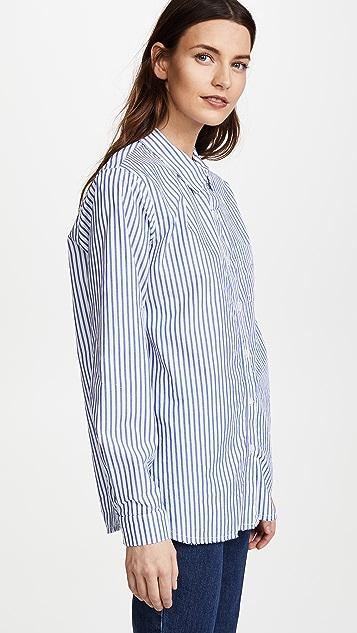 Stateside Striped Oxford Button Down