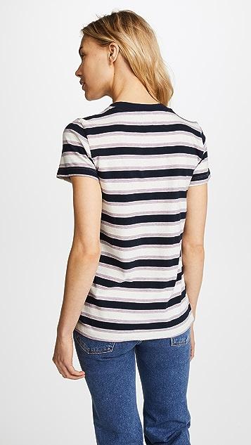 Stateside Винтажная футболка в полоску