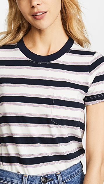 Stateside Vintage Striped Tee