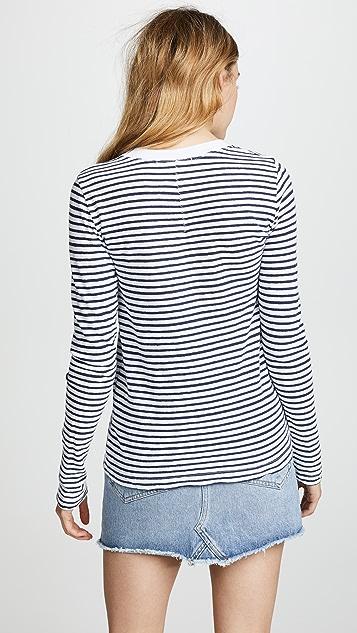 Stateside Stripe Long Sleeve Tee