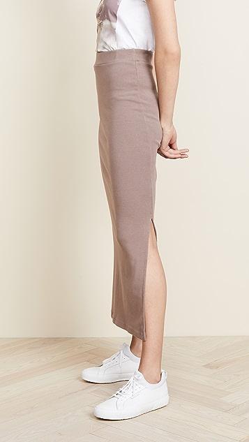 Stateside Rib Midi Skirt