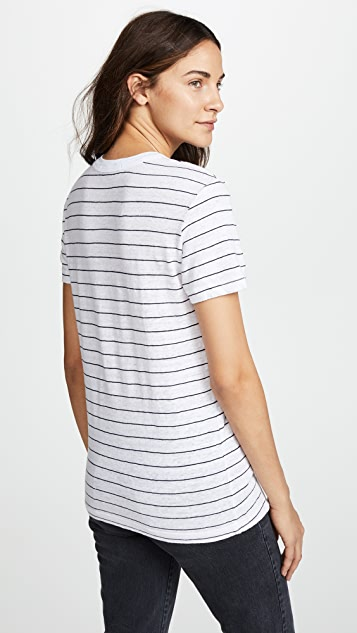 Stateside Striped Pocket Tee