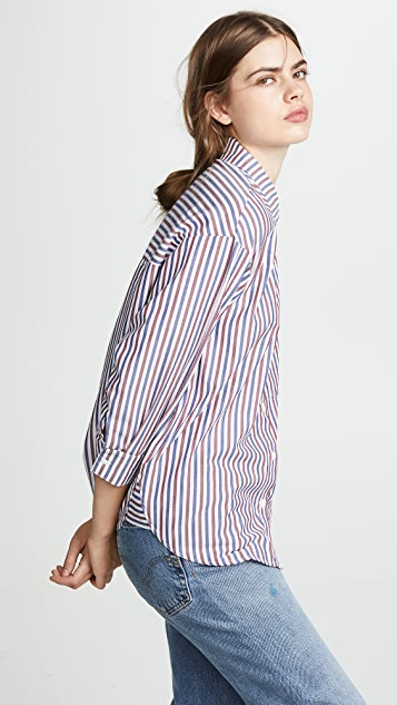 Stateside Oxford Boyfriend Button Down Shirt