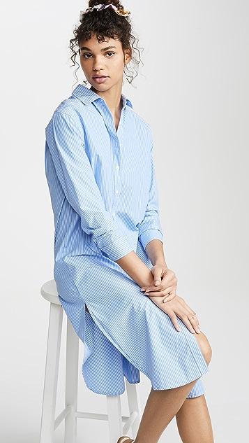 Stateside Платье из рубашечной ткани в полоску