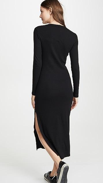 Stateside Mini Rib Maxi Dress