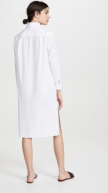 Stateside 府绸衬衫式连衣裙