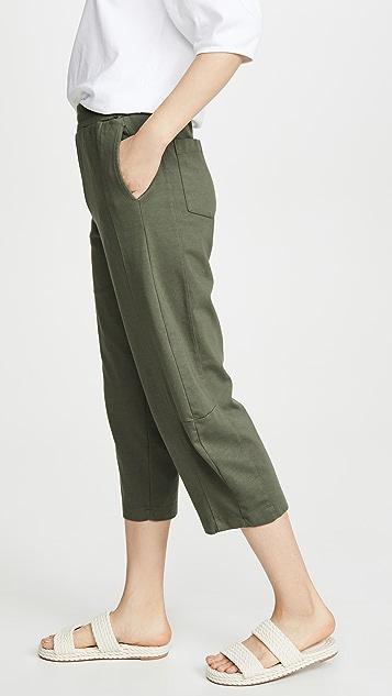 Stateside Структурированные спортивные брюки из джерси понте с боковыми вставками