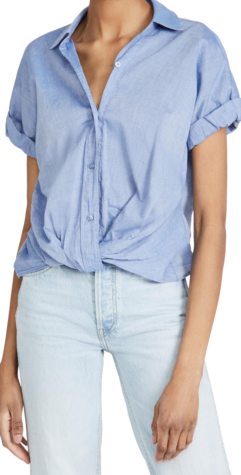 Stateside Short Sleeve Twist Front Shirt