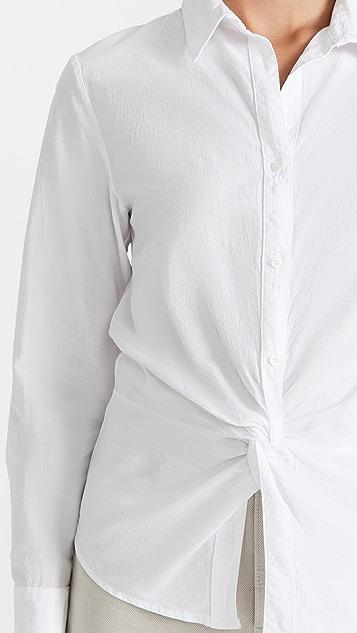 Stateside Poplin Twist Shirt