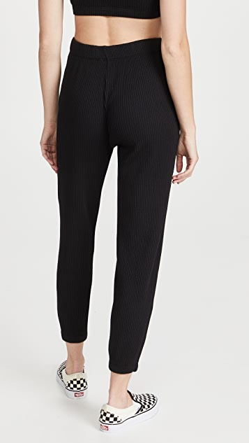 Stateside Luxe Thermal Henley Pants