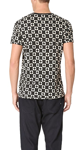 Scotch & Soda Crew Neck Print Tee