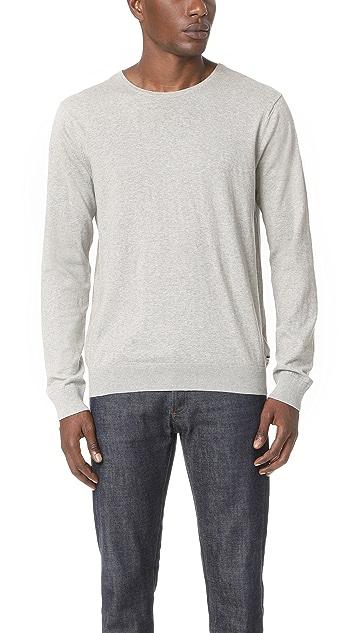 Scotch & Soda Classic Melange Crew Neck Sweater