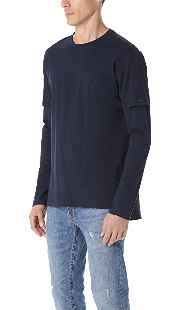 Scotch & Soda Double Layer Tee