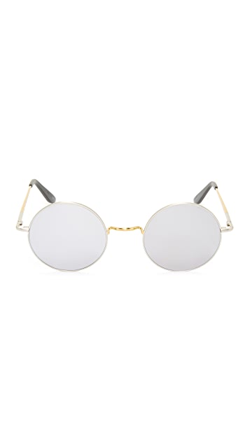 Sunday Somewhere Junita Mirrored Sunglasses