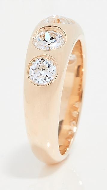 Single Stone 5 Stone Diamond Dallas Ring