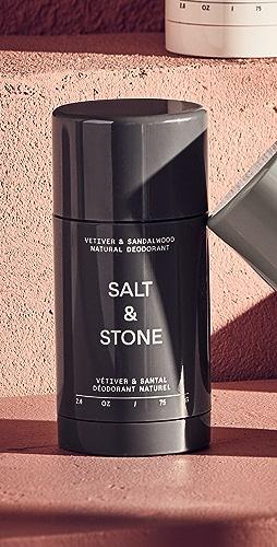 Salt & Stone - Vetiver & Sandalwood - Formula Nº 2 Deodorant Stick