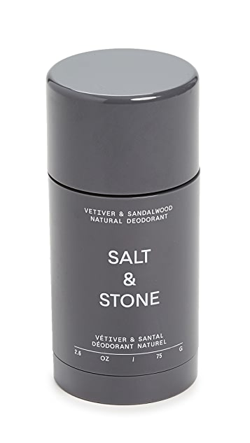 Salt & Stone Vetiver & Sandalwood - Formula Nº 2 Deodorant Stick