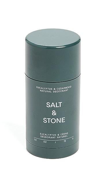 Salt & Stone Eucalyptus & Cedarwood - Formula Nº 1 Deodorant Stick