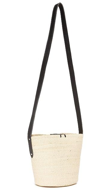 Sensi Studio Cross Body Bucket Bag